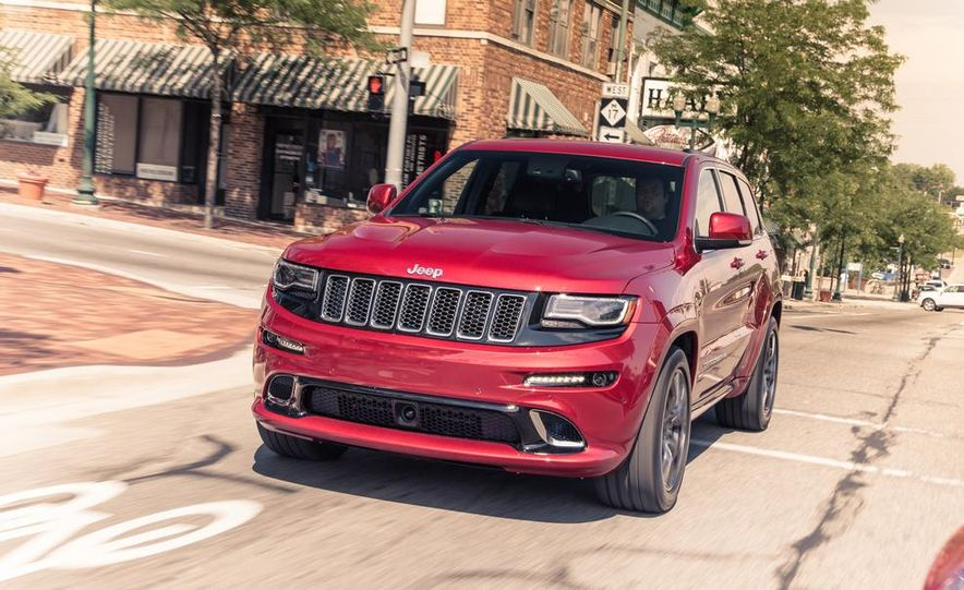 2014 Jeep Grand Cherokee SRT - Slide 1