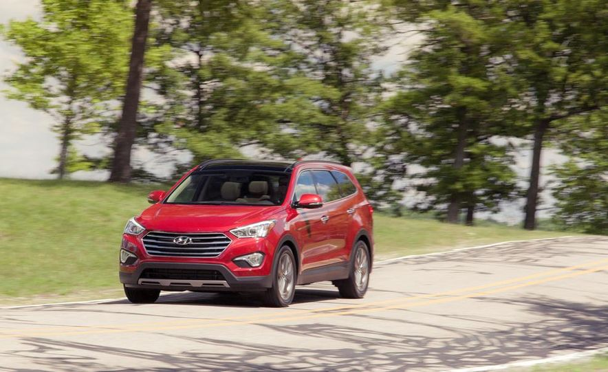 2013 Hyundai Santa Fe Limited AWD - Slide 4