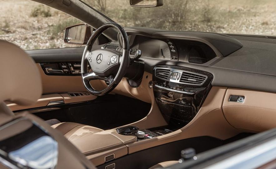 2013 Mercedes-Benz CL600 - Slide 16