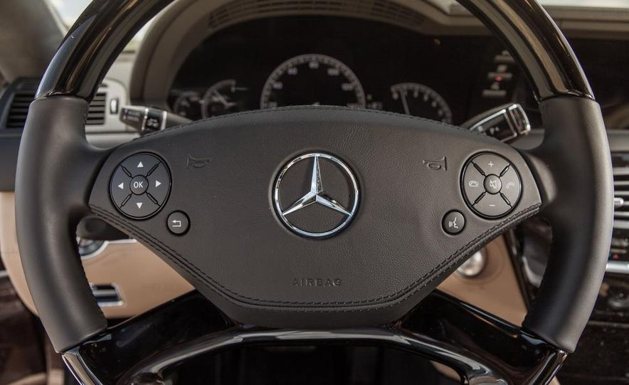 2013 Mercedes-Benz CL600 - Slide 20