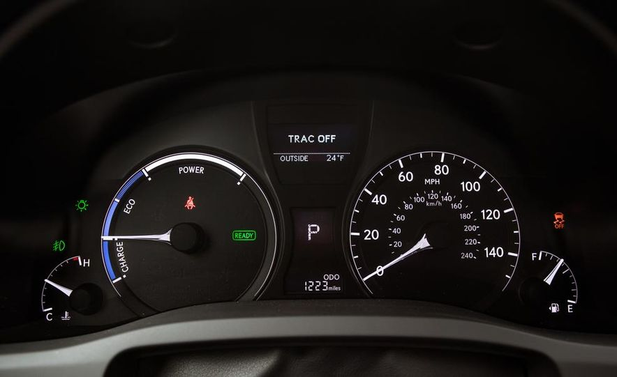 2013 Lexus RX450h - Slide 40