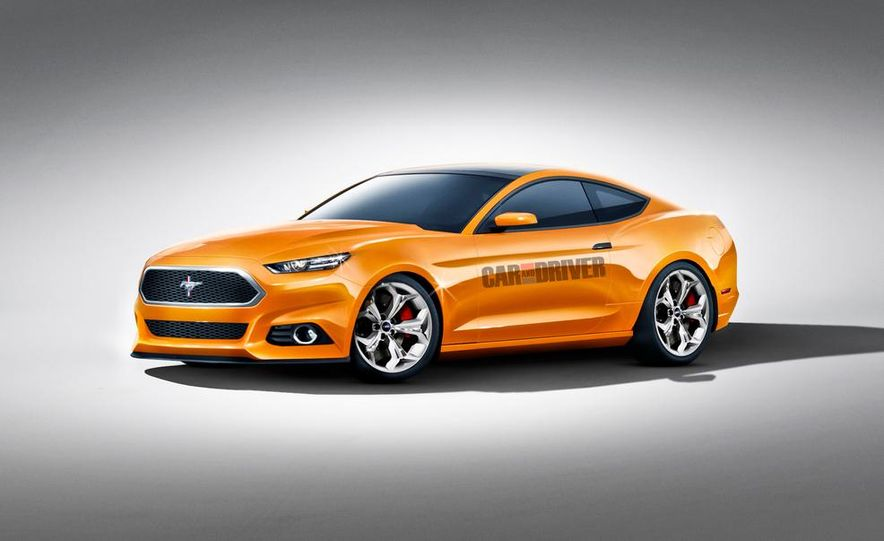 2015 Ford Mustang (spy photo) - Slide 43