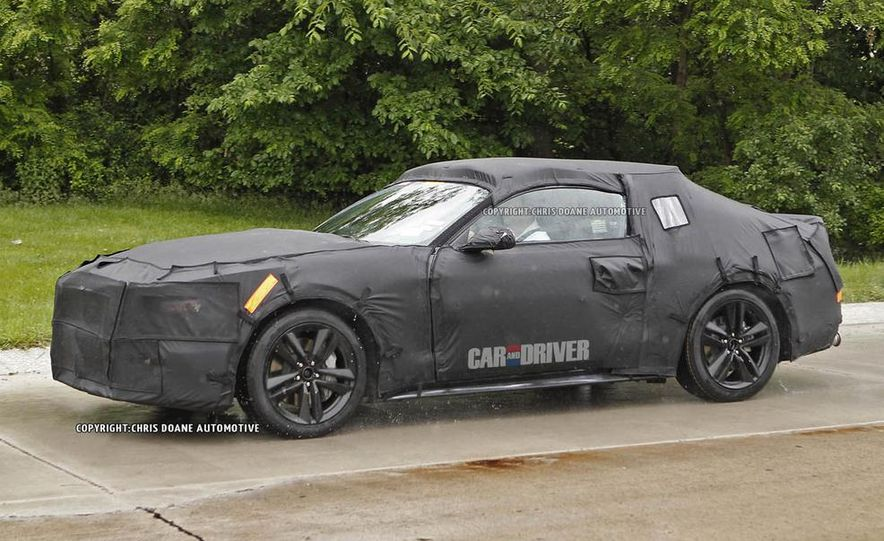 2015 Ford Mustang (spy photo) - Slide 18