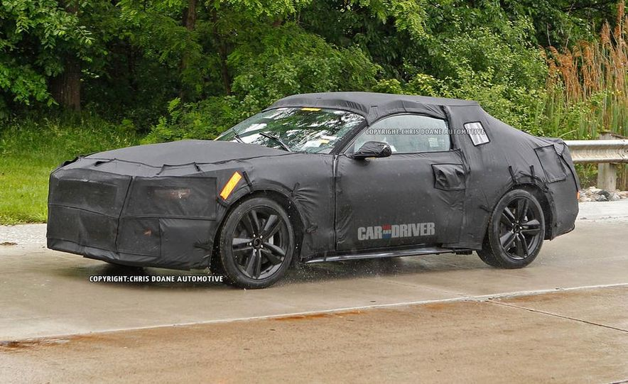 2015 Ford Mustang (spy photo) - Slide 21