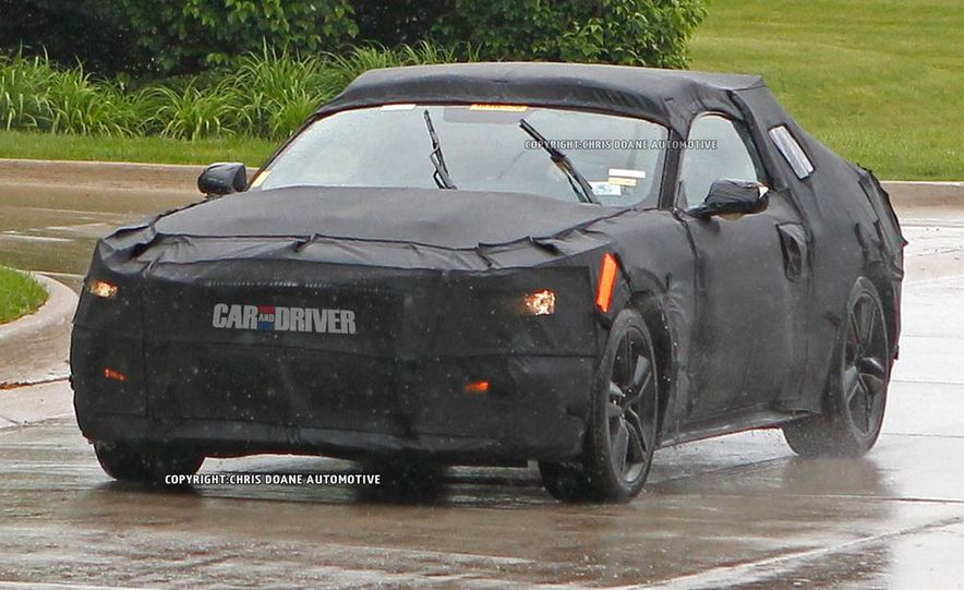 2015 Ford Mustang (spy photo) - Slide 24