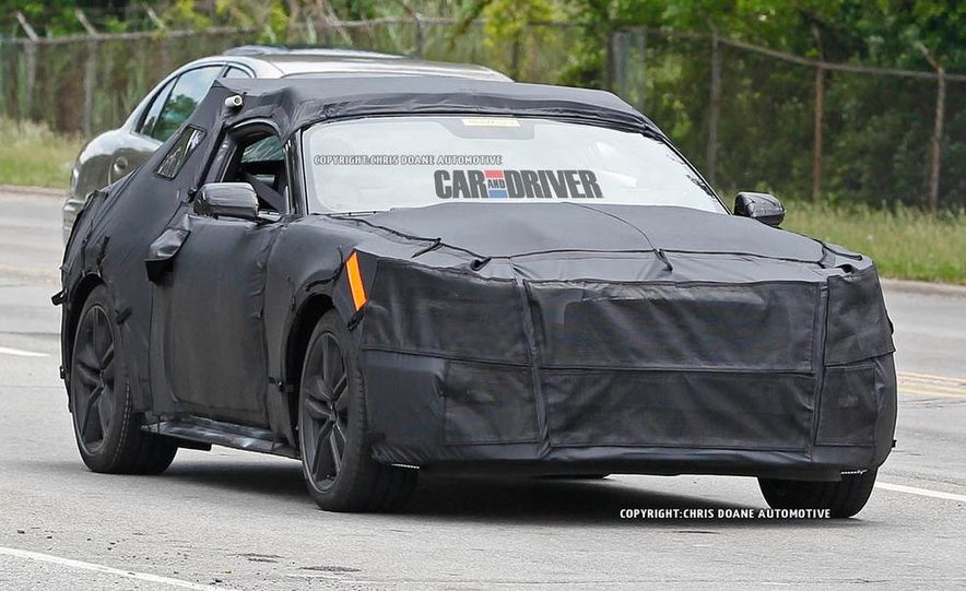 2015 Ford Mustang (spy photo) - Slide 29