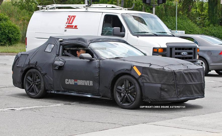 2015 Ford Mustang (spy photo) - Slide 32