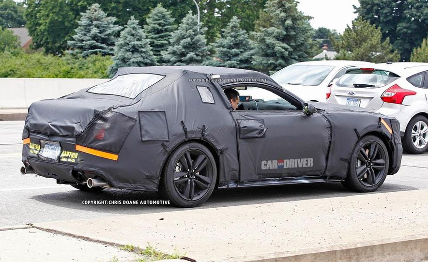 2015 Ford Mustang (spy photo) - Slide 33