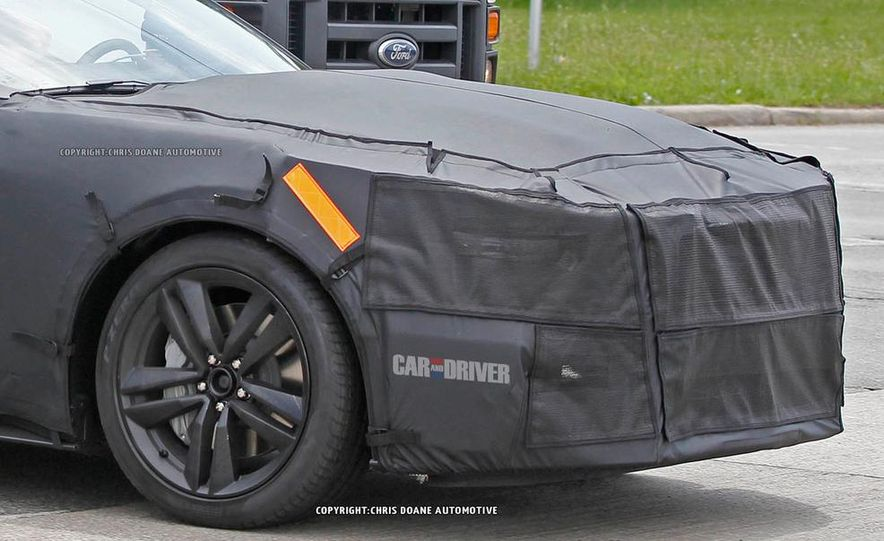 2015 Ford Mustang (spy photo) - Slide 40