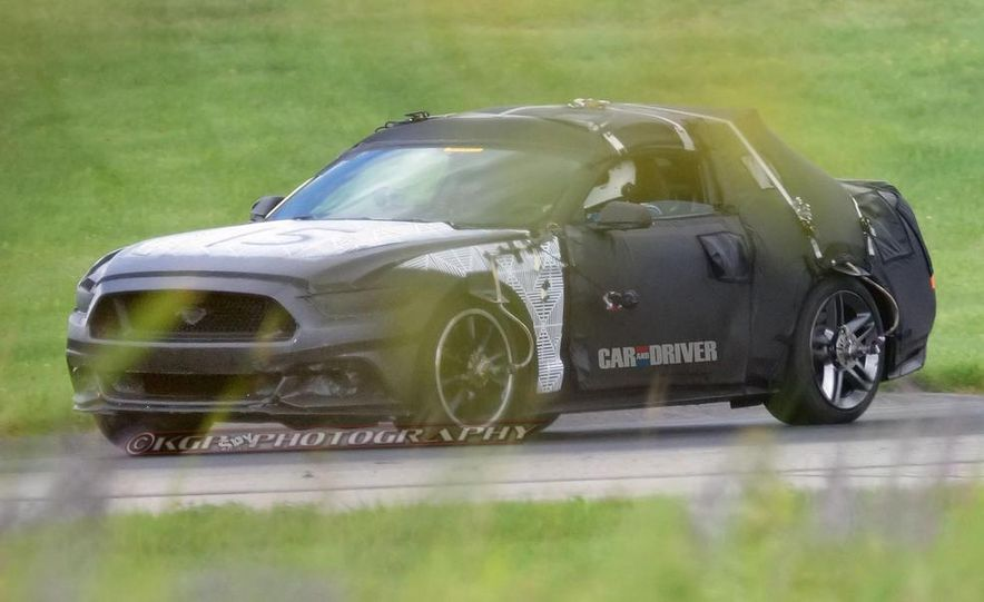 2015 Ford Mustang (spy photo) - Slide 3