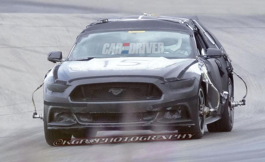 2015 Ford Mustang (spy photo) - Slide 7