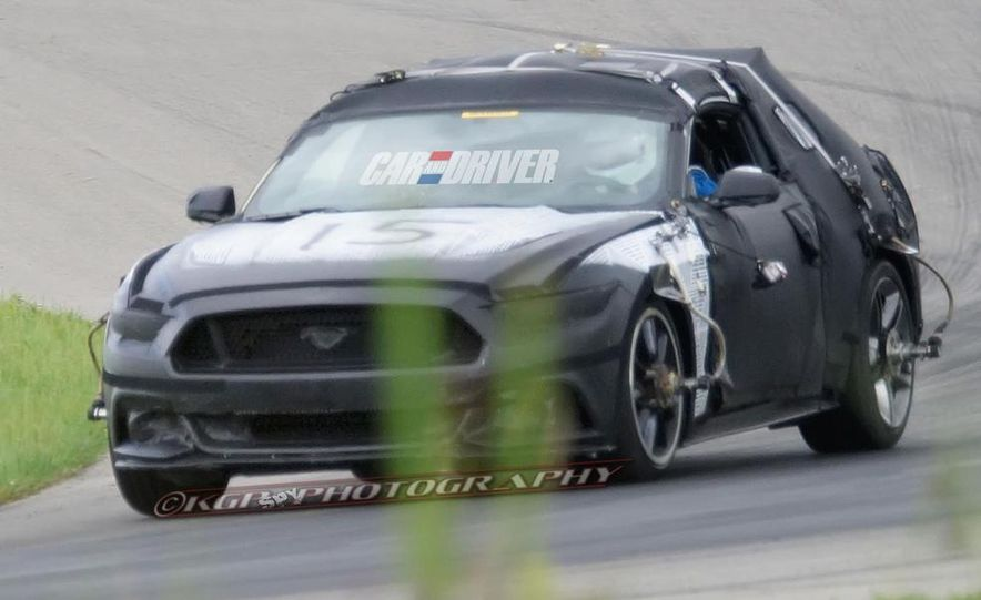 2015 Ford Mustang (spy photo) - Slide 8