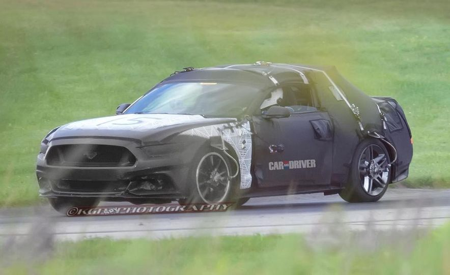 2015 Ford Mustang (spy photo) - Slide 9
