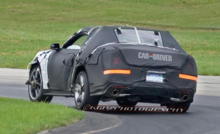 2015 Ford Mustang (spy photo) - Slide 11