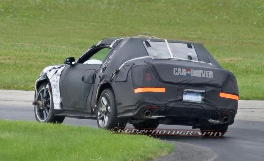 2015 Ford Mustang (spy photo) - Slide 12