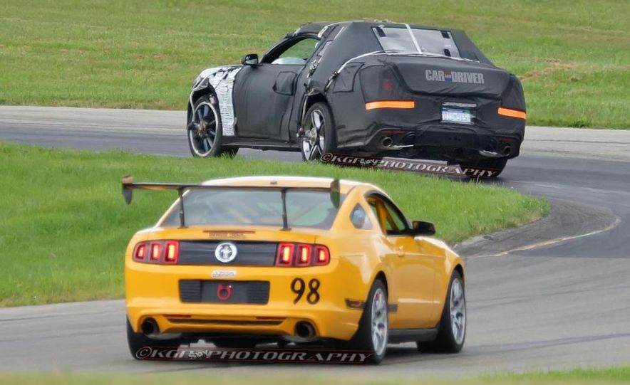 2015 Ford Mustang (spy photo) - Slide 14