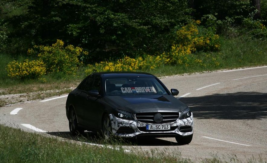 2015 Mercedes-Benz C-class sedan (spy photo) - Slide 3