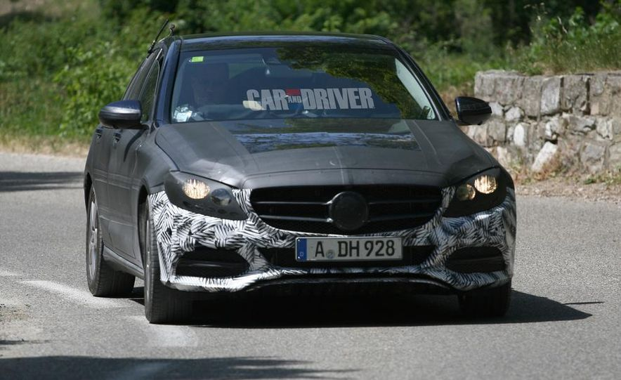 2015 Mercedes-Benz C-class sedan (spy photo) - Slide 9