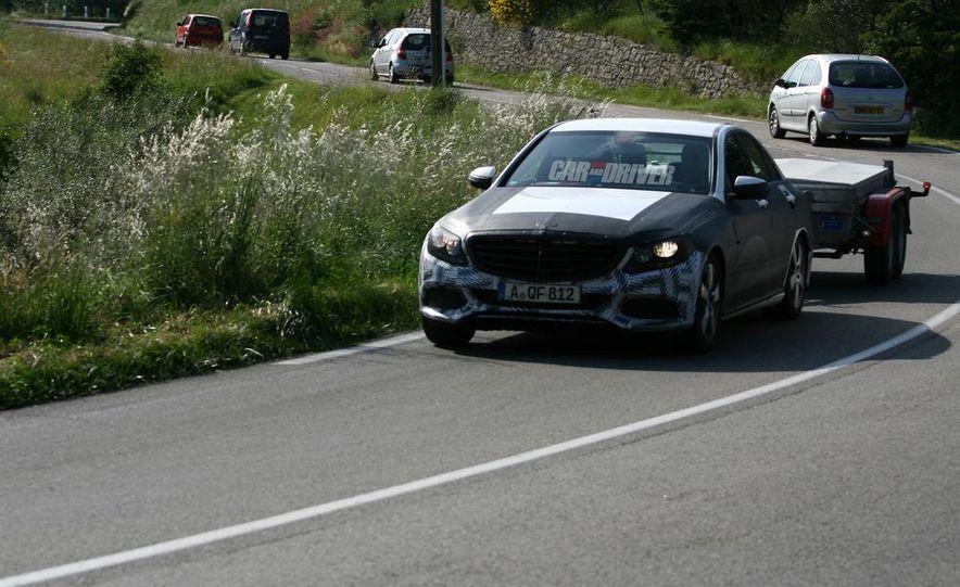 2015 Mercedes-Benz C-class sedan (spy photo) - Slide 10