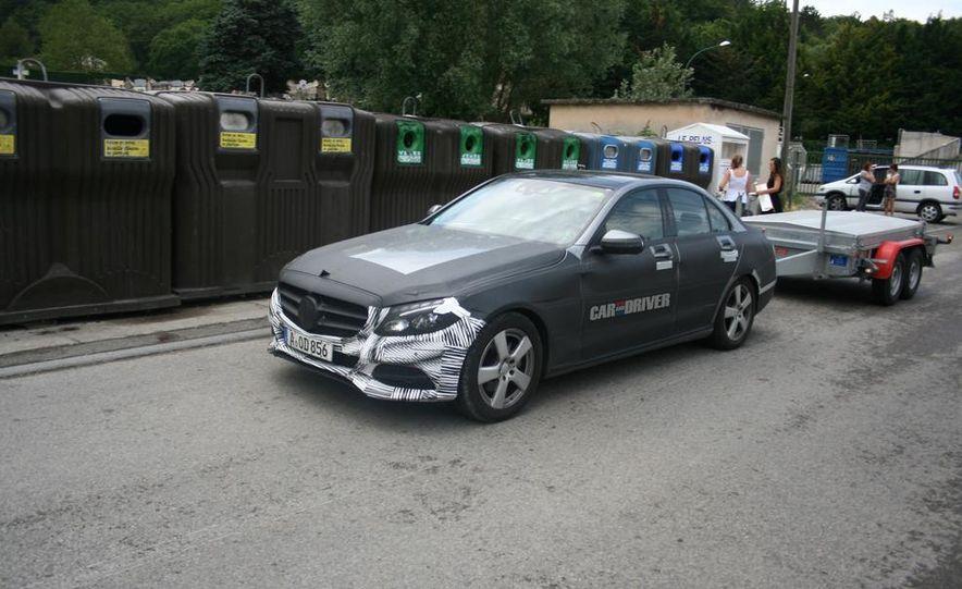 2015 Mercedes-Benz C-class sedan (spy photo) - Slide 12