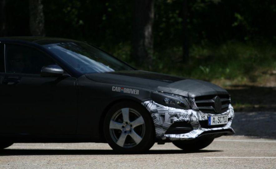 2015 Mercedes-Benz C-class sedan (spy photo) - Slide 16