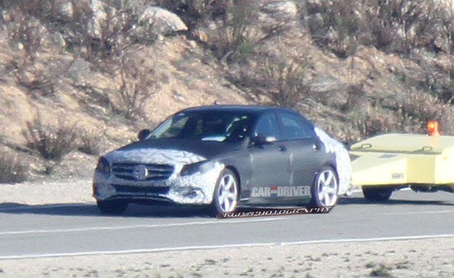 2015 Mercedes-Benz C-class sedan (spy photo) - Slide 26