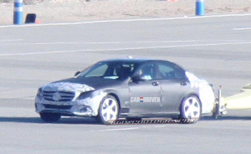 2015 Mercedes-Benz C-class sedan (spy photo) - Slide 30