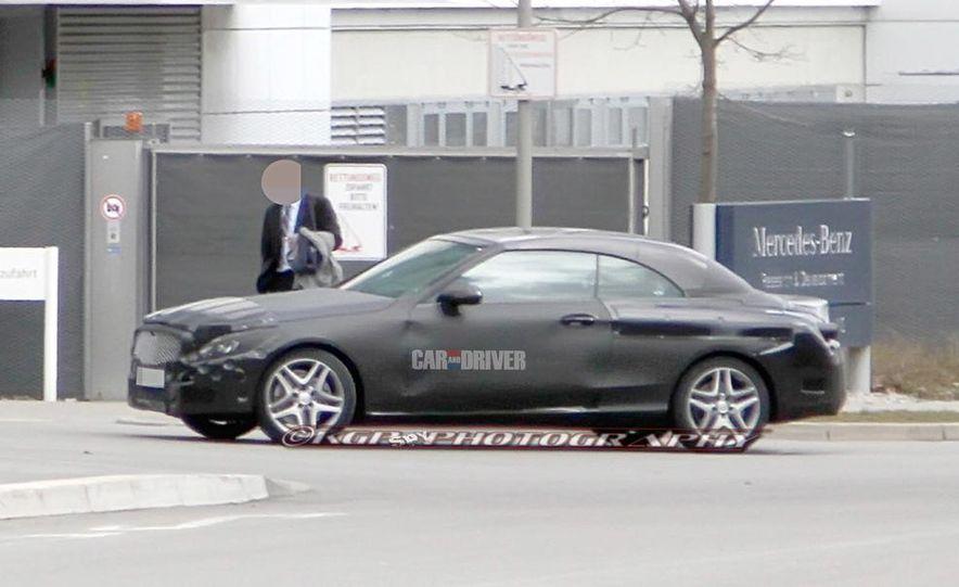 2015 Mercedes-Benz C-class sedan (spy photo) - Slide 39