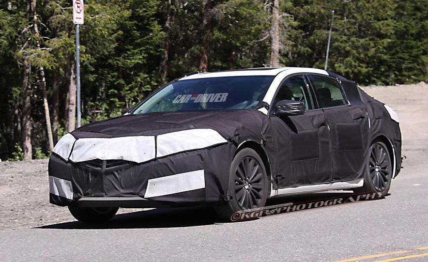2015 Acura TLX (spy photo) - Slide 1