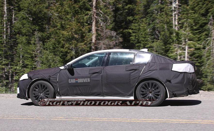 2015 Acura TLX (spy photo) - Slide 5