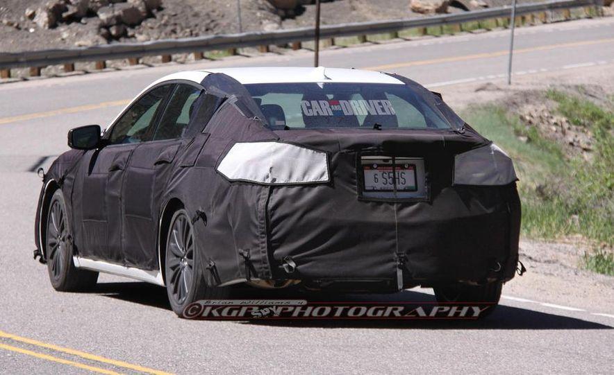 2015 Acura TLX (spy photo) - Slide 8