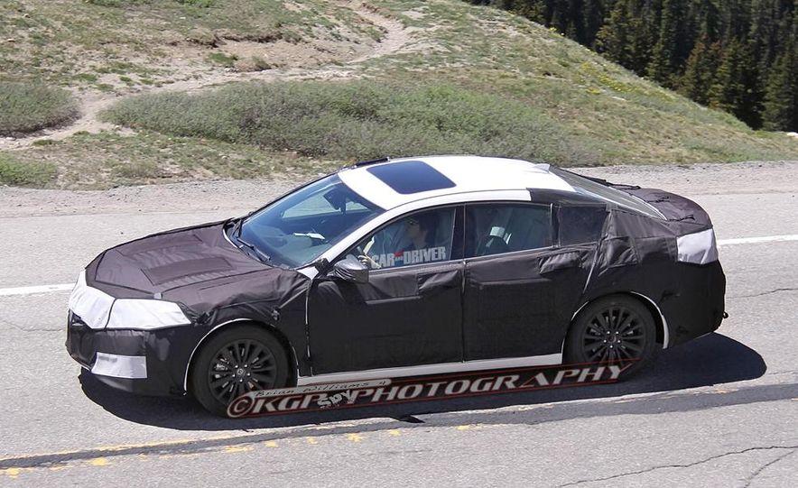 2015 Acura TLX (spy photo) - Slide 10