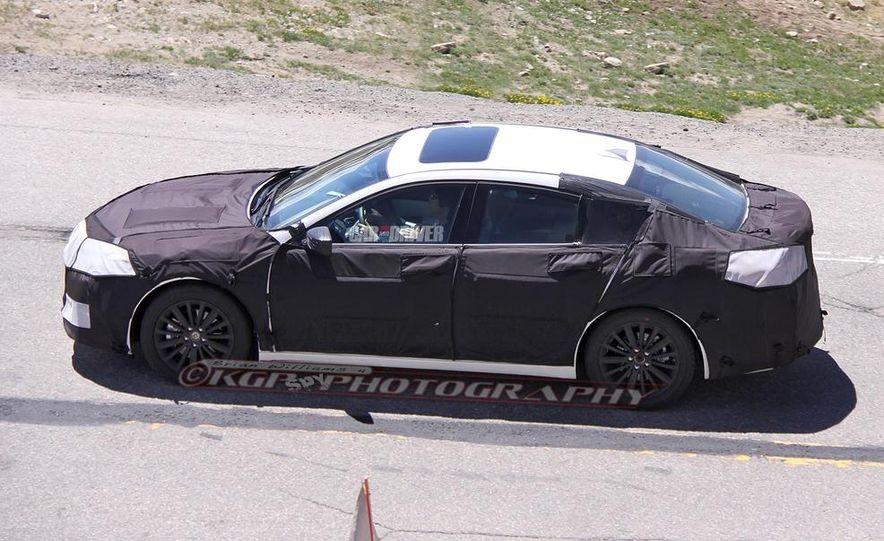 2015 Acura TLX (spy photo) - Slide 11
