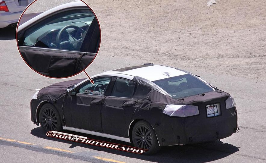 2015 Acura TLX (spy photo) - Slide 13