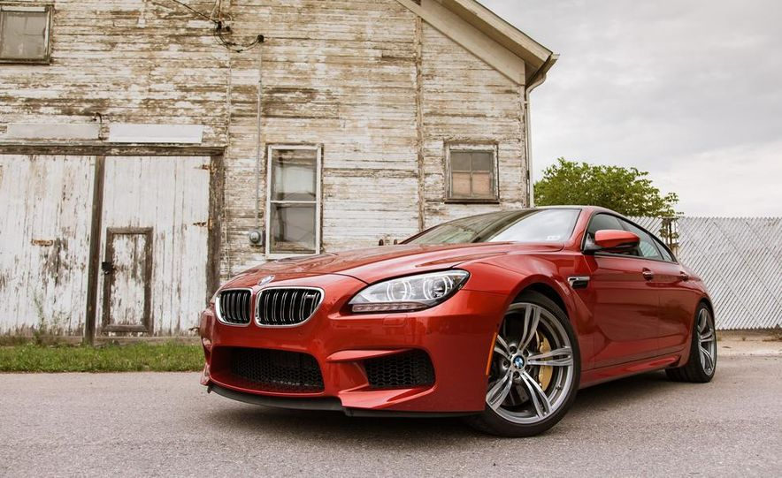 2014 BMW M6 Gran Coupe - Slide 13