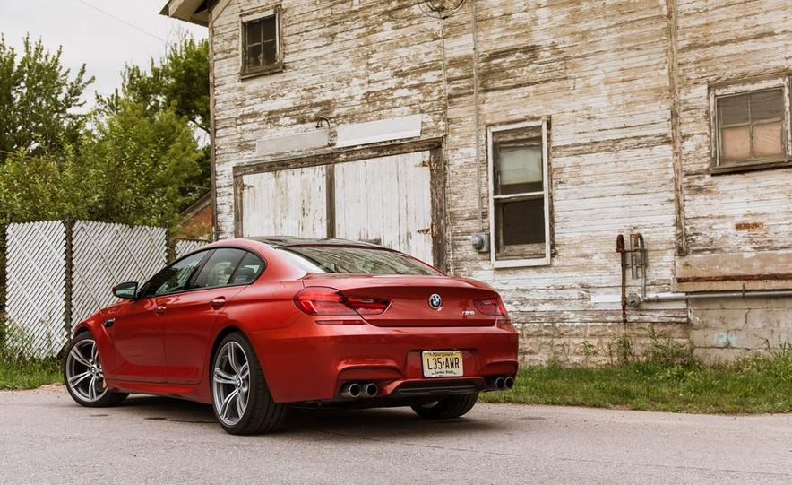 2014 BMW M6 Gran Coupe - Slide 15