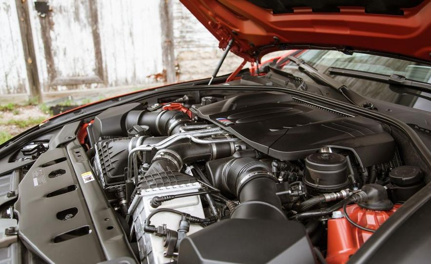 2014 BMW M6 Gran Coupe - Slide 42