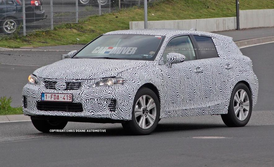 2015 Lexus NX (spy photo) - Slide 3