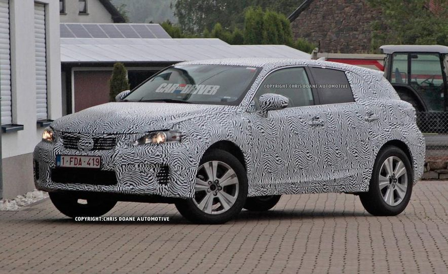 2015 Lexus NX (spy photo) - Slide 9