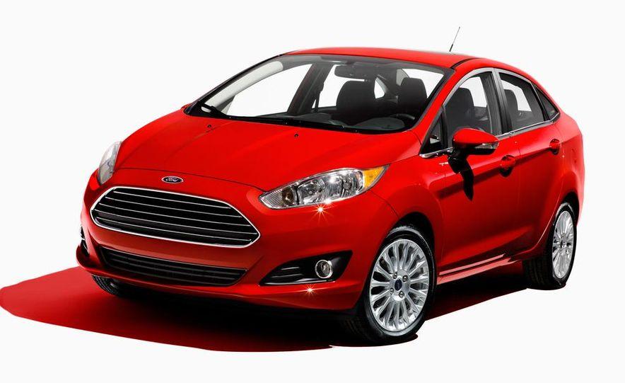 2014 Ford Fiesta Titanium 5-door - Slide 39