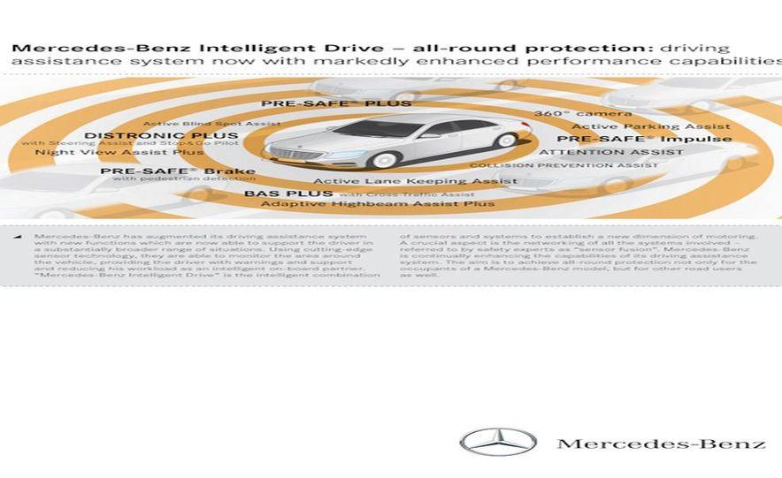 2014 Mercedes-Benz S350 BlueTec - Slide 117