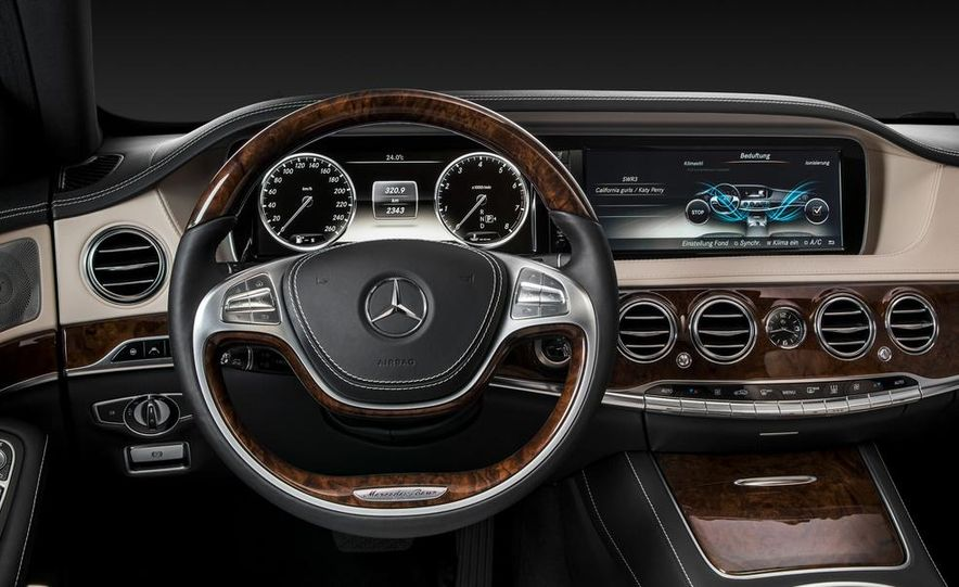 2014 Mercedes-Benz S350 BlueTec - Slide 93