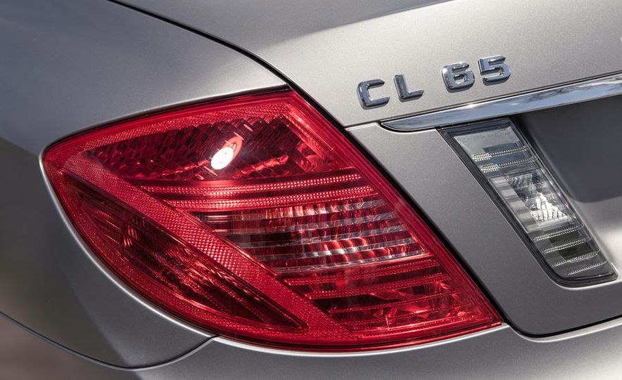 2013 Mercedes-Benz CL65 AMG - Slide 18