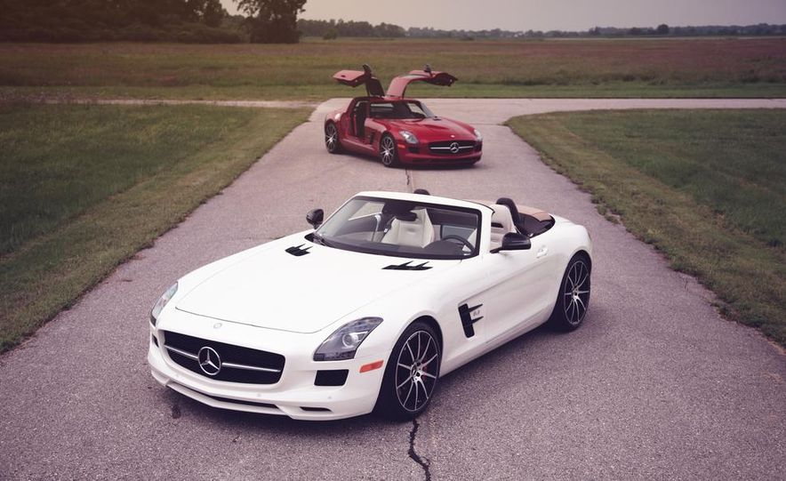 2013 Mercedes-Benz SLS GT roadster and coupe - Slide 1