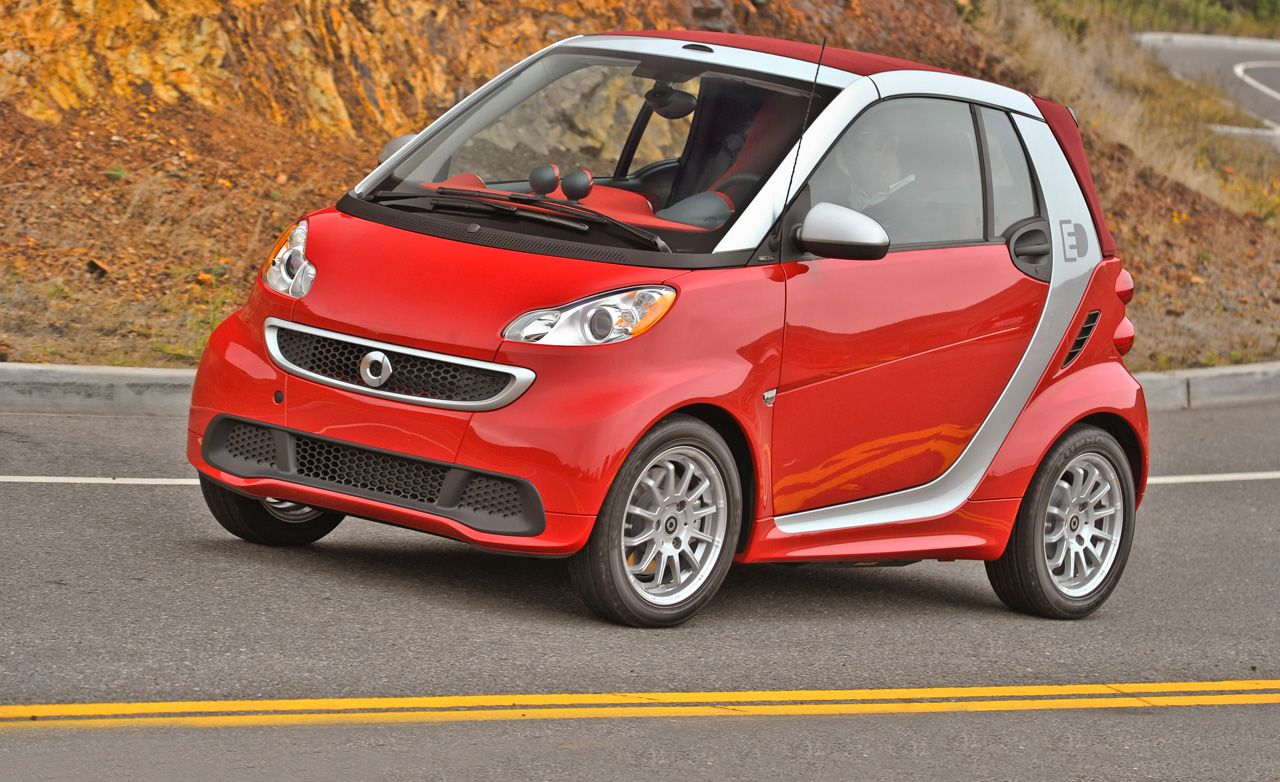 2013 Smart Fortwo Electric Drive Coupe and Convertible