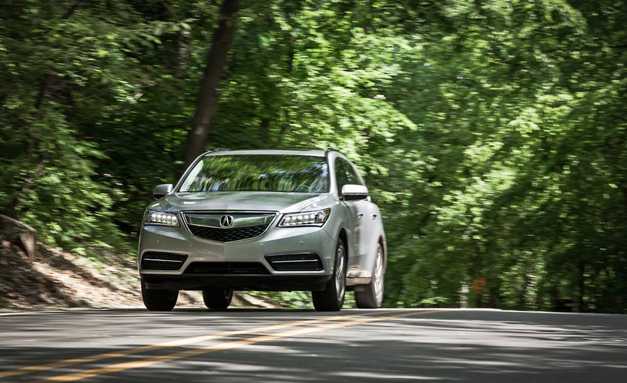 Acura MDX SHAWD Test Review Car And Driver - Acura mdx review 2014