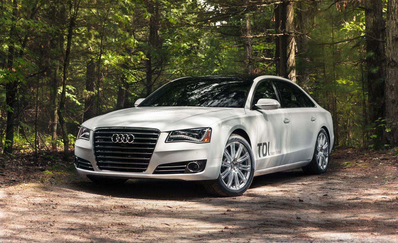2014 Used Audi A8 L CERTIFIED A8L 4.0t Quattro V8 AWD PREMIUM ...