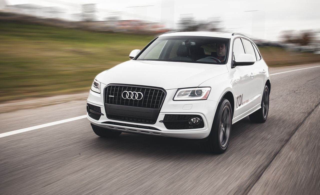2014 Audi Q5 Tdi Diesel Instrumented Test Review Car