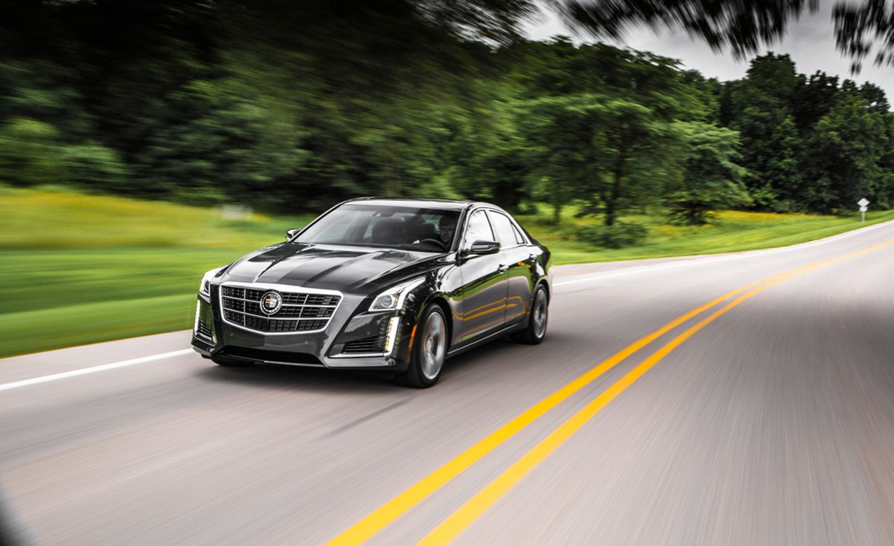 2014 cadillac cts vsport twin-turbo v-6 test – review &#8211