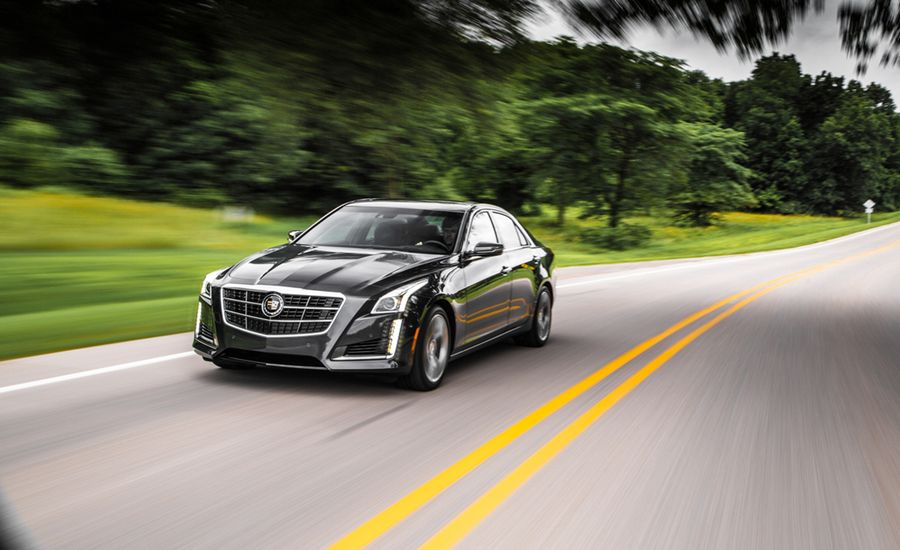 2014 Cadillac Cts Vsport Twin Turbo V 6 Test Review Car And Driver